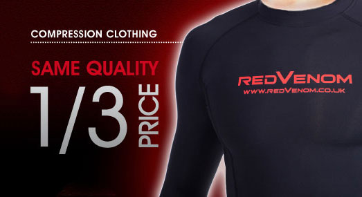 Compression clothing - same quality 1/3 the price